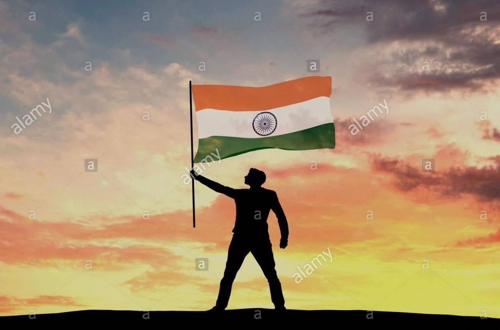 silhouette-maschio-figura-sventola-bandiera-dellindia-il-rendering-3d-jt4jyf